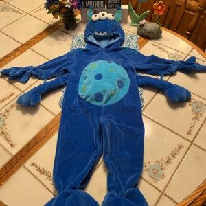 Koala Kids Fuzzy Monster Full Costume 18 Months